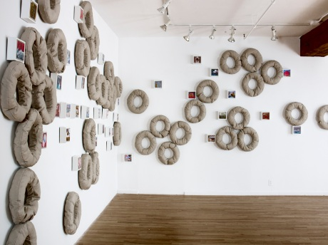 My Solo Exhibition in New York:  Afloat: An Installation