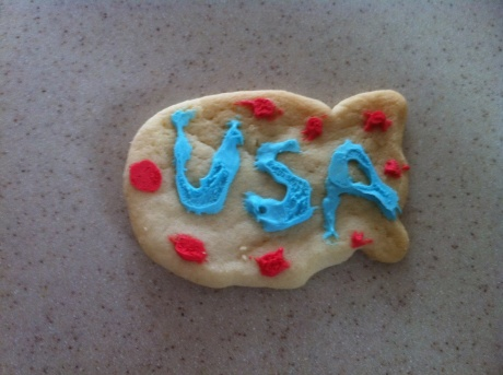 Memorial Day Cookie